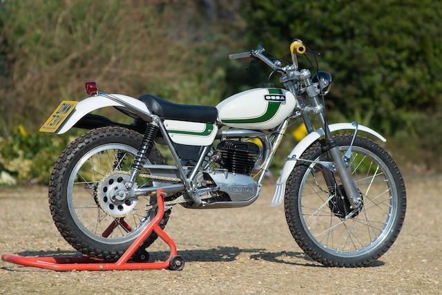 1980 Ossa 250cc MAR Trials Motorcycle Engine no. M340211