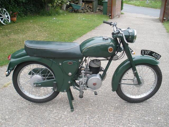 1959 Francis-Barnett 147cc Plover Frame no. Z 7887 Engine no. 295B 284884