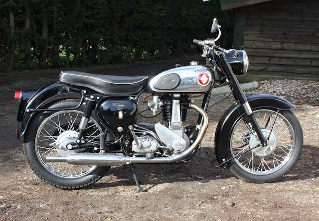 1959 BSA 499cc B33 Frame no. FB31 3989 Engine no. B33 922