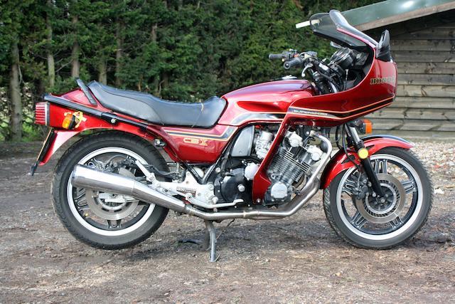 c.1986 Honda CBX1000 Pro-Link Frame no. CB1E2009884 Engine no. SC03E240381