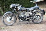 1961 Velocette 499cc Venom Frame no. RS15881 Engine no. VM4848