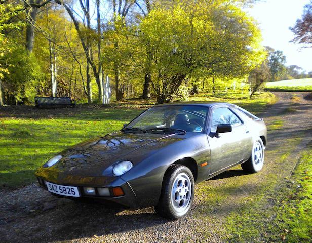 Left-hand drive,1979 Porsche 928 Coupé  Chassis no. 9289201892