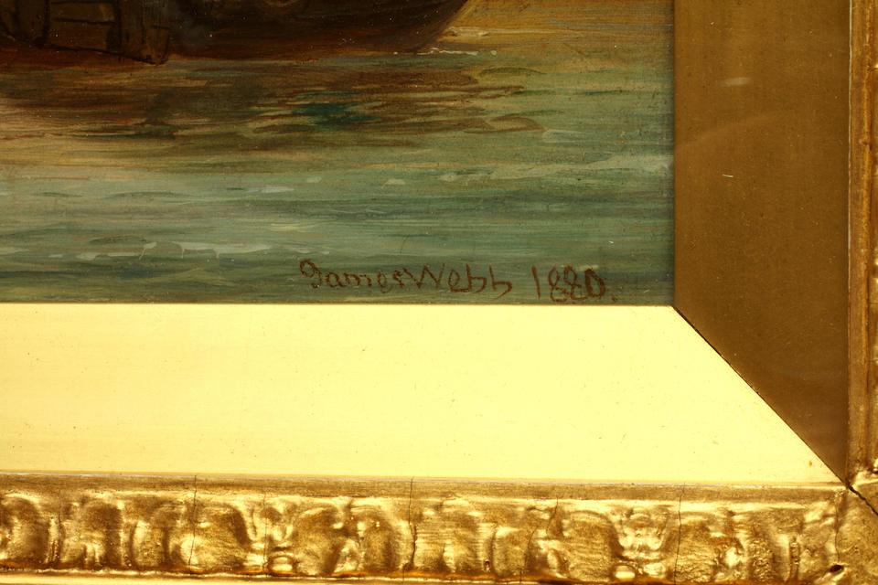 James Webb (British, 1825-1895) 'Ehrenbriten'