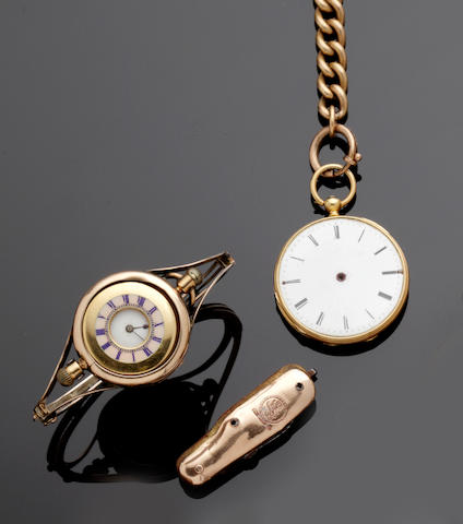 A collection of watches and jewellery
