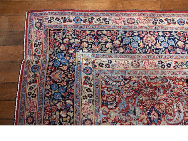 A Tabriz carpet, circa 1900