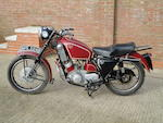 1964 Scott 596cc Flying Squirrel Frame no. 1325 Engine no. DMS 2125
