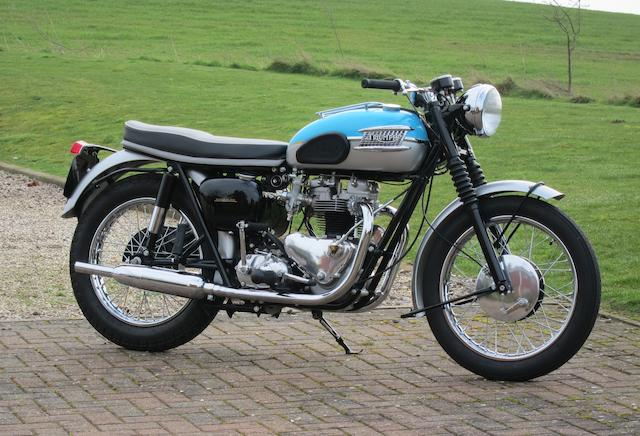 1961 Triumph 650cc T120 Bonneville Frame no. D15808 Engine no. T120 D15808