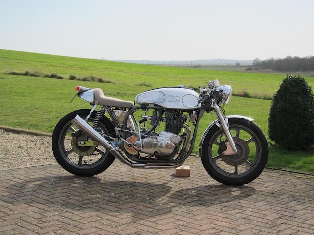 Multiple concours winning, 1968 Nor-BSA 750cc Café Racer Frame no. R122 79180 Engine no. WELLY65