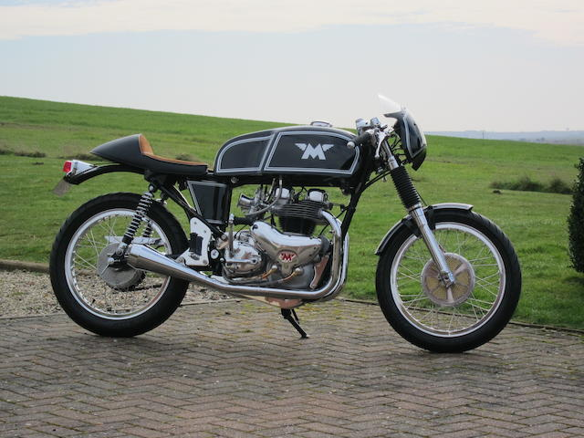 1959 Matchless 498cc G9 Café Racer Frame no. A68256 Engine no. 59/G9L52061