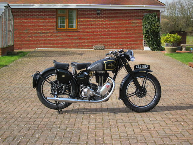 1947 AJS 497cc Model 18 Frame no. 20668 Engine no. 47/18 4734 B