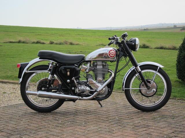 1956 BSA 500cc Gold Star Frame no. CB32 5842 Engine no. DBD34GS 3581