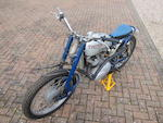 1966 Greeves-Triumph 350cc Project Frame no. 24MDS 258 Engine no. T90 H46656