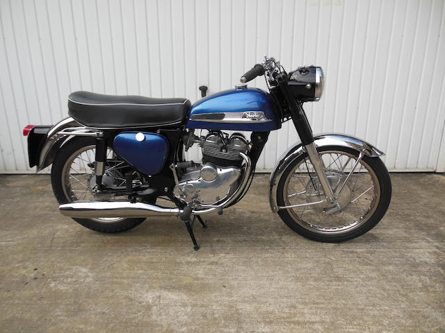 1961 Norton 350cc Navigator Frame no. 97479 Engine no. 95538