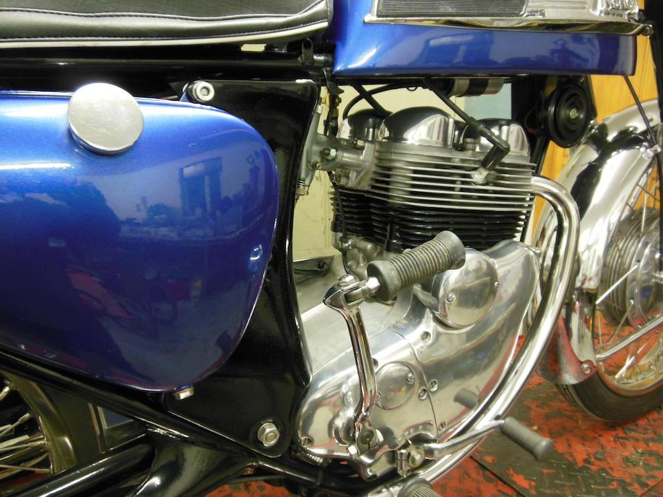 1961 Norton 350cc Navigator Frame no. 97479 Engine no. 95538