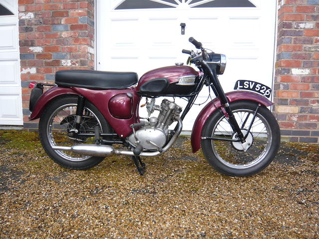 c.1959 Triumph 199cc T20 Tiger Cub Frame no. F4821A Engine no. T20 87780