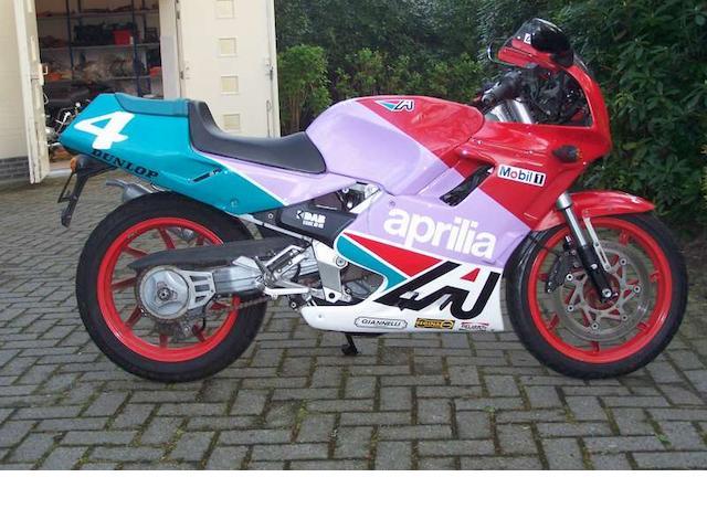1989 Aprilia 166cc AF1 Sintesi Frame no. 02103930 Engine no. 270680