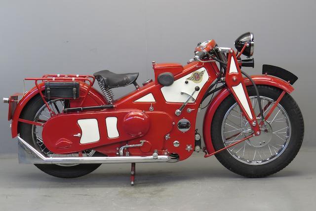 1929 Ascot-Pullin 496cc Sports Utility Frame no. 119A Engine no. AP123