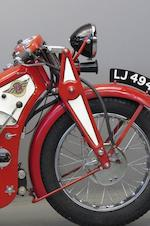 1929 Ascot-Pullin 496cc Sports Utility Frame no. 119A Engine no. AP123