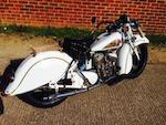1935 Indian 45ci Sport Scout Engine no. FCE 423
