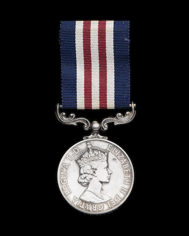 The Oman Military Medal awarded to Lance Corporal I.Mclaren, Royal Engineers, attached 22nd S.A.S. Regiment,