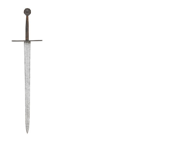 A Very Rare Medieval Knightly Sword Of Oakeshott Type XIII