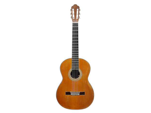 A six string Guitar by Ignacio Fleta, Barcelona, 1970 (2)