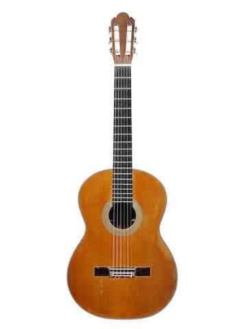 A six string Guitar by Ignacio Fleta, Barcelona, 1970 (2)