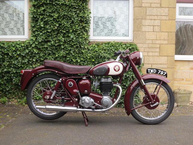 1956 BSA 249cc C12 Frame no. EC12 4923 Engine no. BC11G 28920