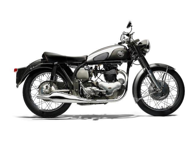 1955 Norton 500cc Dominator 88 Frame no. 61825 Engine no. 60945