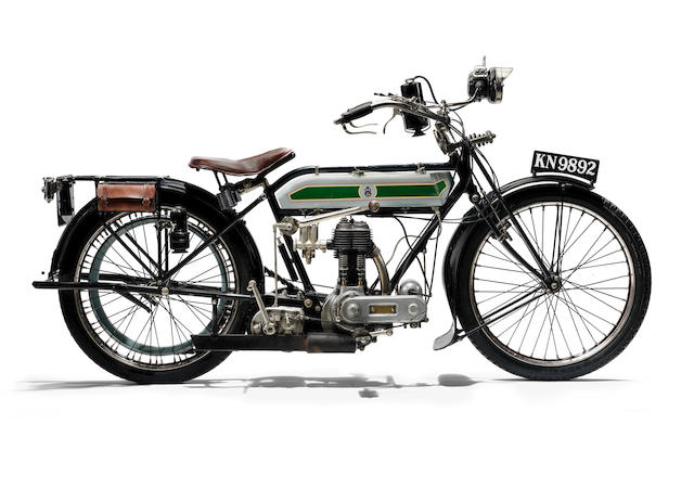 1920 Triumph 550cc Model H Frame no. 310353 Engine no. 70813