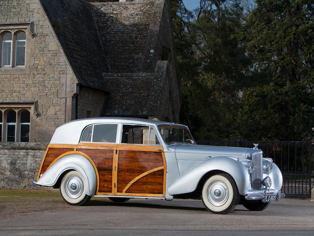 1949 Bentley MkVI 4¼-Litre Countryman Shooting Brake  Chassis no. B441DZ Engine no. B470D