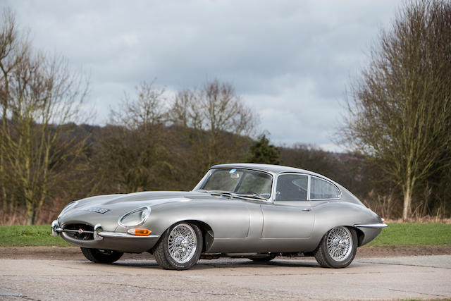 Left-hand drive,1963 Jaguar E-Type 3.8-Litre 'Series 1' Coupé  Chassis no. 889736 Engine no. RA4829-9
