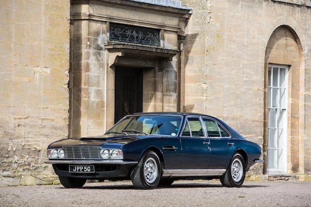 Ex - Sir David Brown,1969 Aston Martin Lagonda 4-Door Prototype  Chassis no. MP/230/1 Engine no. V/540/008/EE