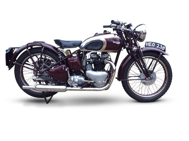 1939 Triumph 498cc Speed Twin Frame no. TH 8071 Engine no. 9-5T-17674