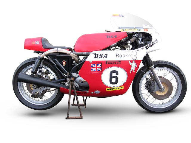 BSA 750cc Rocket III 'Rob North' Racing Motorcycle