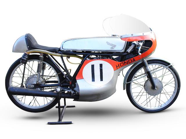 The Ex-John Lawley, Isle of Man TT, c.1963 Honda 50cc CR110 Racing Motorcycle Frame no. CR110 20169 Engine no. CR110E 20283