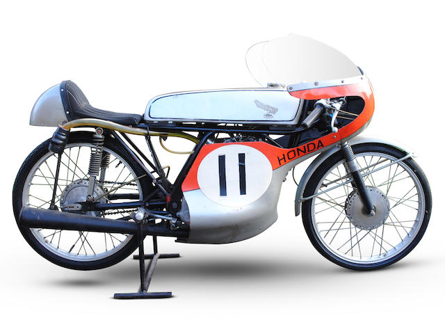 The Ex-John Lawley, Isle of Man TT, c.1963 Honda 50cc CR110 Racing Motorcycle Frame no. CR110 20169 Engine no. CR110E 20283