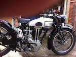 1934 Norton 490cc Model 18 Frame no. 53793 Engine no. 59171
