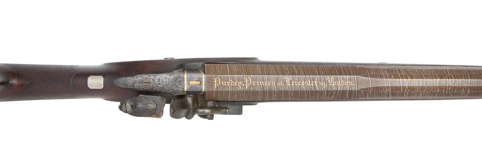 A Very Rare 8-Bore Flintlock Sporting Gun