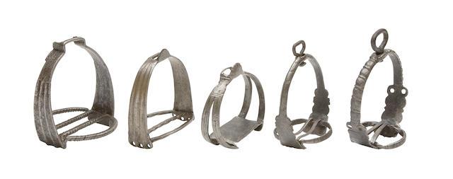 Five Various German Stirrups