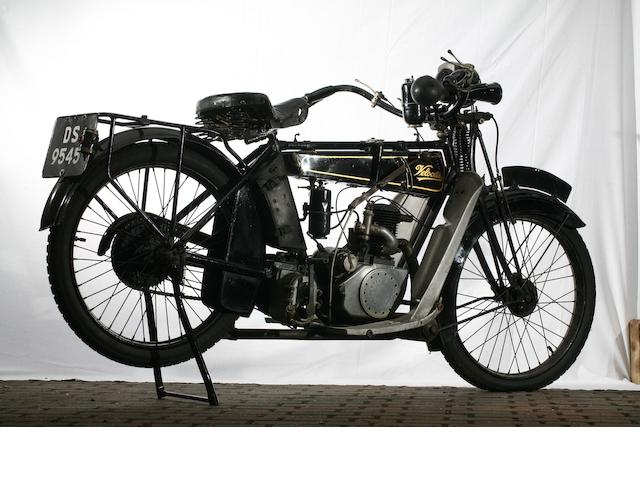 1922 Velocette 250cc E3S Frame no. 2166 Engine no. 21 525