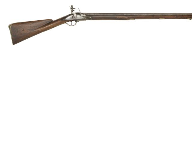 An Extremely Rare 13-Bore Flintlock 1745 Pattern Lord Loudoun Light Infantry Carbine