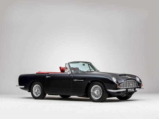 1969 Aston Martin DB6 Volante   Chassis no. DBVC/3737/R Engine no. 400/4189