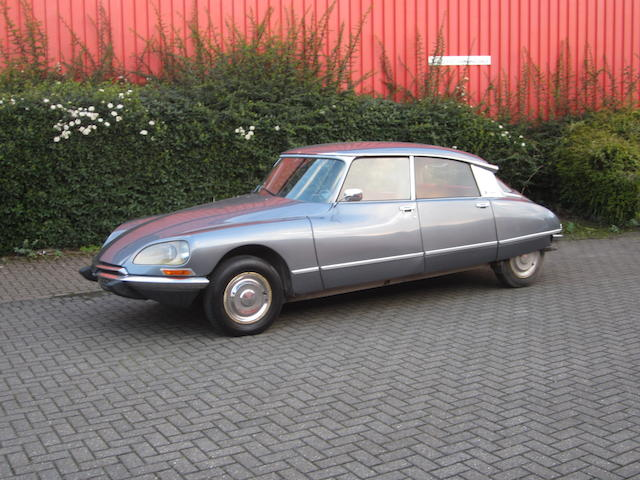 The property of David Dimbleby,1972 Citroën  DS21 EFI (see text) Pallas Saloon  Chassis no. 01FB5047 Engine no. 0581004446