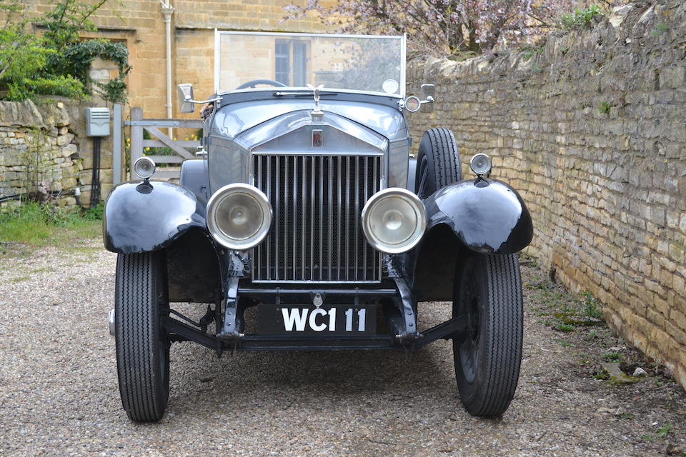 Single family ownership since 1976,1924 Rolls-Royce  20hp Tourer  Chassis no. GDK37 Engine no. G1124