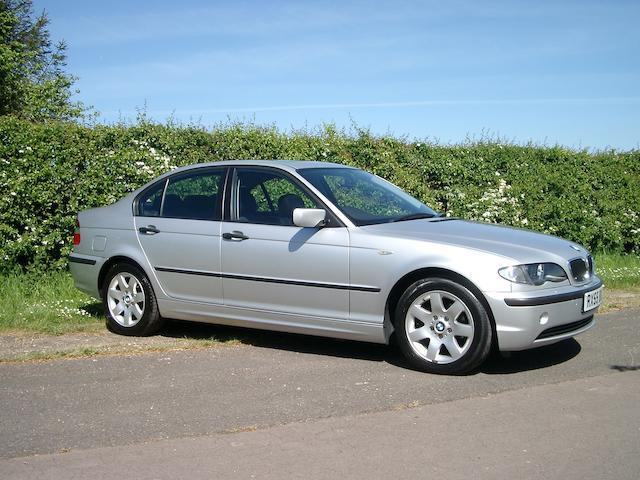 One of 10 Nelson Mandela 'Democracy Cars',2004 BMW 318i Sports Saloon  Chassis no. WBAET760XBNA91035
