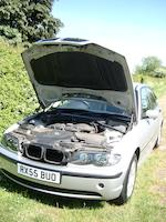 One of 10 Nelson Mandela 'Democracy Cars',2004 BMW 318i Sports Saloon  Chassis no. WBAET760XBNA91035