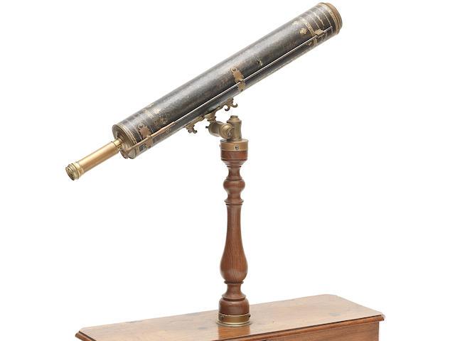 A Domenico Selva 2 3/4-inch Gregorian reflecting telescope, Italian, circa 1760,