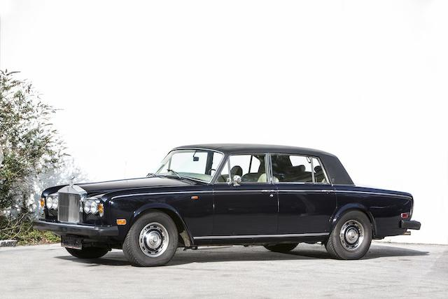 1975 Rolls-Royce Silver Shadow Long-Wheelbase Saloon Chassis no. LRD21714 Engine no. 21714