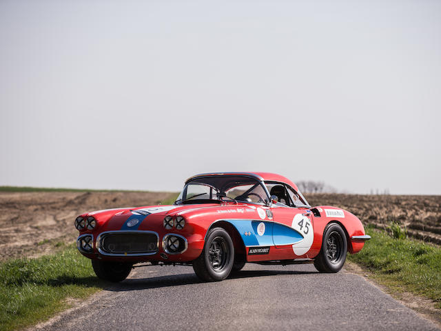 1959 Chevrolet Corvette Chassis no. JS95100382